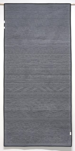 , 'Generative Textile Drawing (lg3),' 2018, Joseph Nease Gallery
