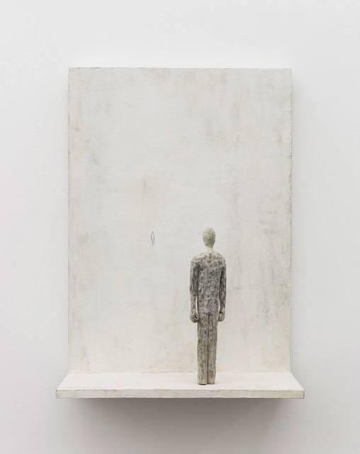 , 'Facer and Back-Turner across a Distance D18-01,' 2018, Beijing Commune