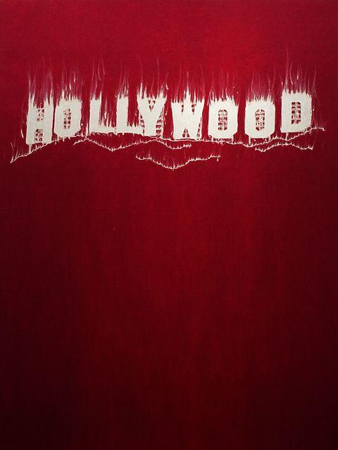 Gary Simmons, 'Hollywood', 2013, McClain Gallery