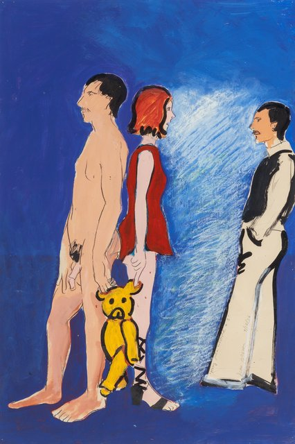 Joan Brown, 'Mary, Julia, and David #3', 1976, Heritage Auctions