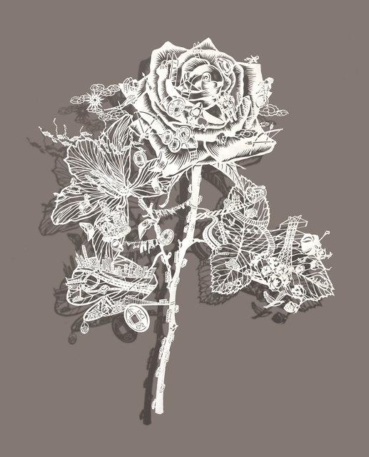 , 'A Tale of Two Flowers,' 2018, Rena Bransten Gallery