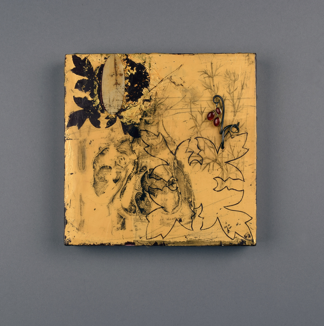 , 'Untitled, Encaustic Panel,' 2017, Gallery Loupe