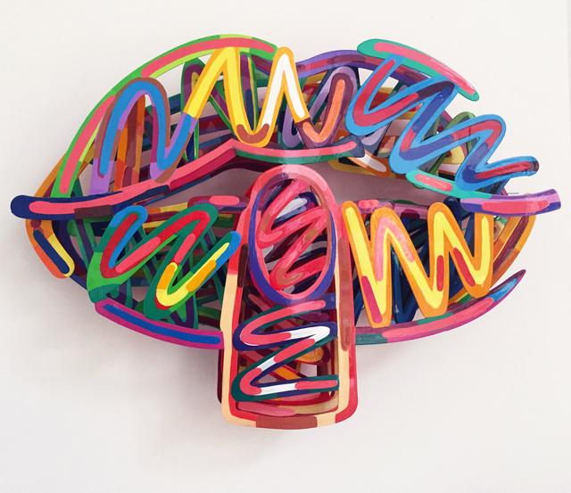 , 'Wow,' 2015, Galerie Duret