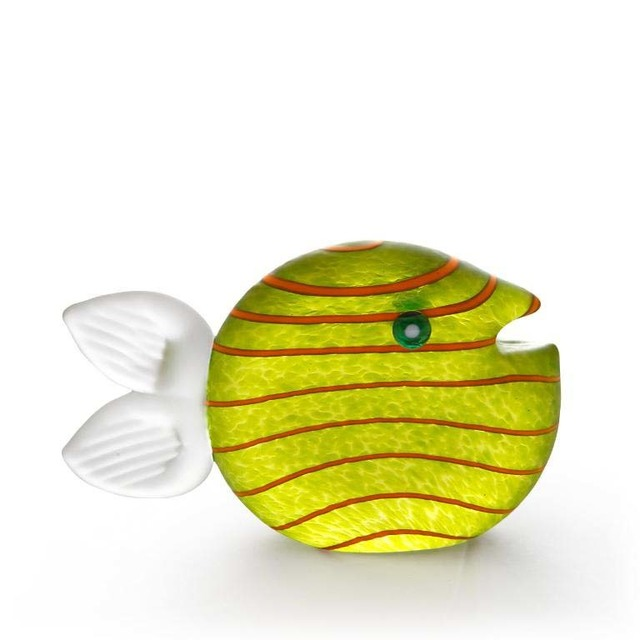 Borowski Glass, 'Snippy Small Paperweight: 24-03-32 in Lime Green', 2018, Art Leaders Gallery