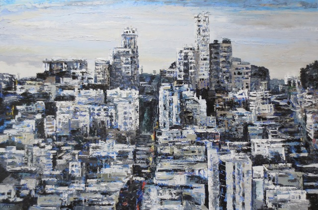 , 'Black & White Russian Hill,' 2018, Seager Gray Gallery