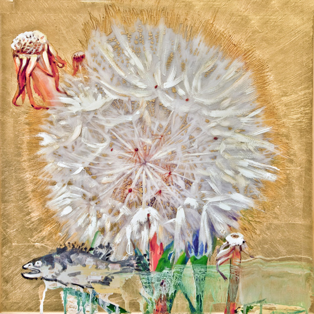 , 'Dandelion with Fish III,' , Gail Severn Gallery