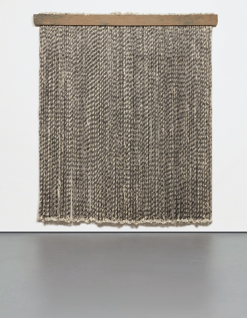 Unwound Rope Wall Piece