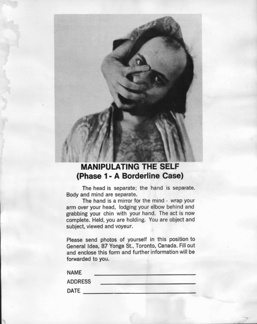 , 'Manipulating the Self (Phase 1 – A Borderline Case),' 1970, Museo Jumex