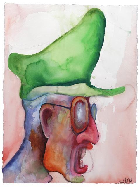 "Marilyn Manson, '""Scald not your lips in another man's pottage""', 2004, Galerie Brigitte Schenk"