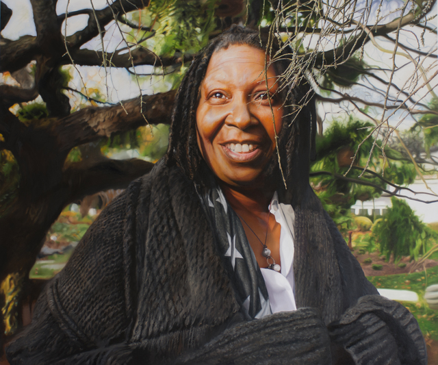 , 'untitled (Whoopi Goldberg),' 2017, Galerie Andreas Binder