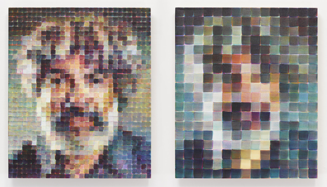 Chuck Close, 'Fred/Diptych', 2017-2018, White Cube