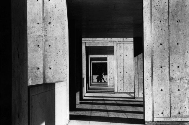 , 'USA. California. La Jolla. Salk Institute of Biological Studies. Building designed by Louis KAHN.,' 1979, Magnum Photos