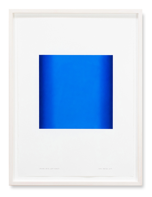 , 'Square, Blue Light Series,' 2018, Edward Cella Art and Architecture