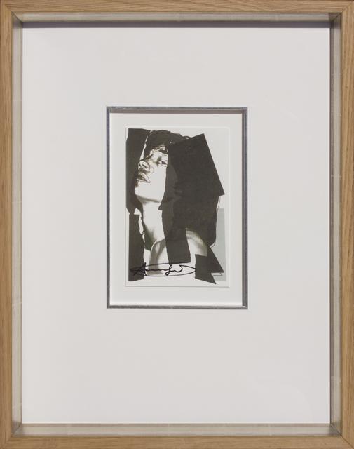 , 'Mick Jagger, 1975-10,' 1975, HOHMANN