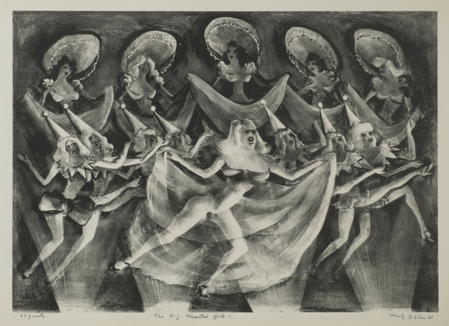 , 'The Big Hearted Girls (or The Last Veil),' 1941, Thomas French Fine Art