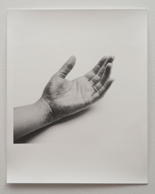 , 'Untitled (hand with cross hatch drawing and ring),' 1973, Mor Charpentier
