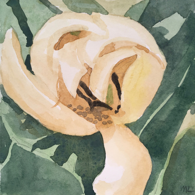, 'Yellow Tulip,' 2017, Clyde Hogan Fine Art