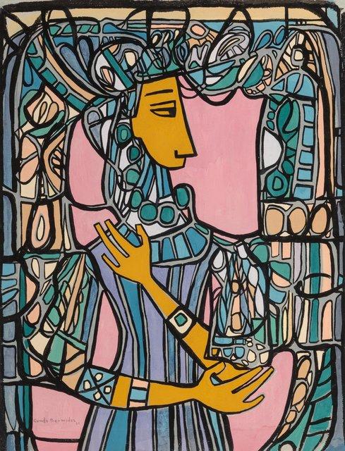 Cundo Bermúdez, 'Figura de Mujer con Vitral', 1968, Heritage Auctions