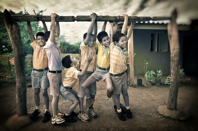 , 'Schoolboys Hang,' 2013, The Perfect Exposure Gallery