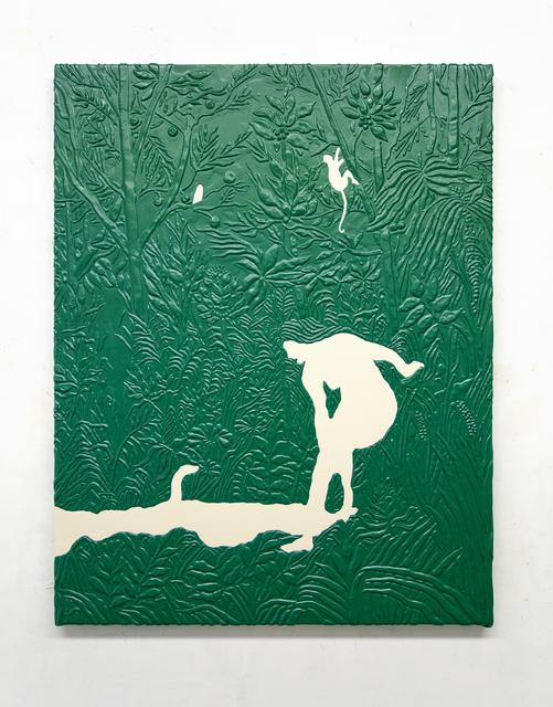 ", 'Untitled (Henri Rousseau, ""The Charm""),' 2016, VALENTIN"