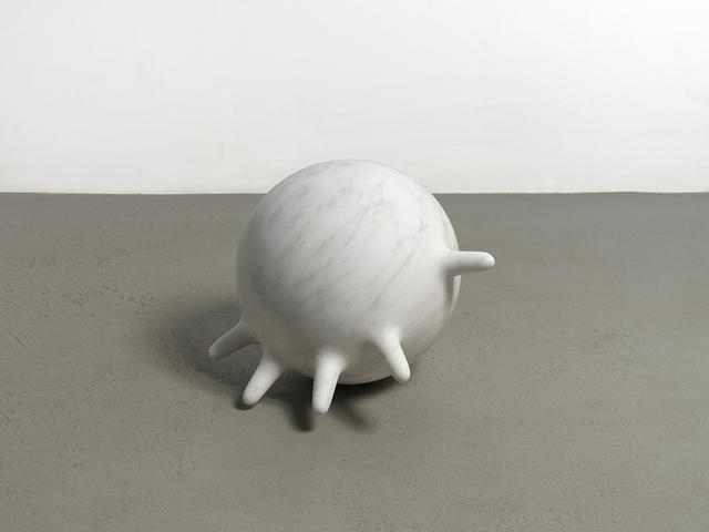 , 'White marble glove,' 2018, Simone Subal