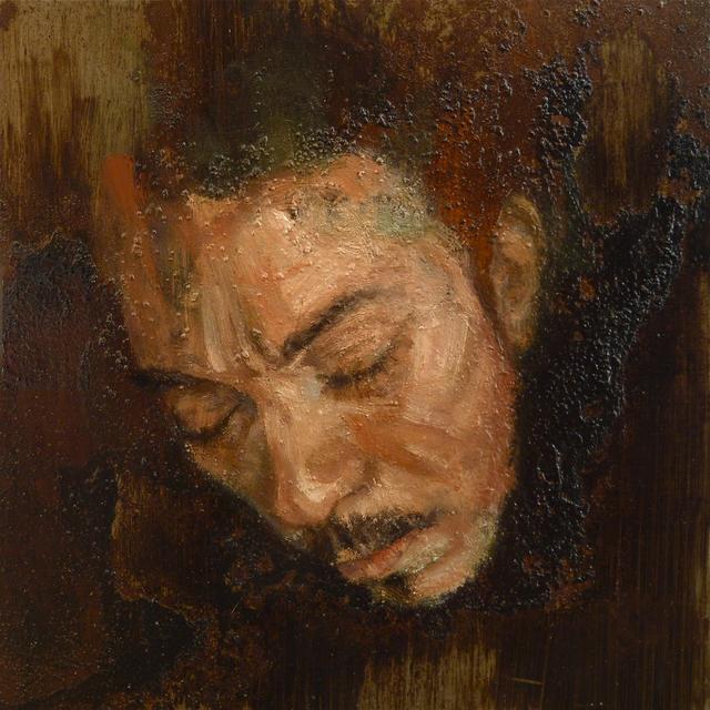Sabatino Cersosimo, 'Experiment auf Stahl XXIII', 2013, Accesso Galleria