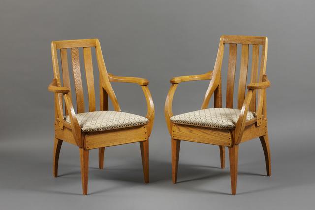 , 'Pair of armchairs,' 1906-1907, Franck Laigneau