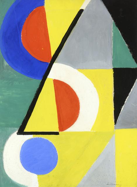 , 'Rythmes colorés,' 1954, Galerie Berès