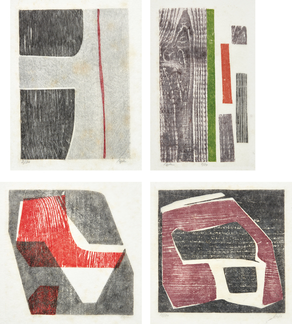 Lygia Pape, 'Four works: Untitled', 1953, Phillips