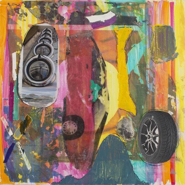 , 'Sunset Sedan,' 2019, The Painting Center