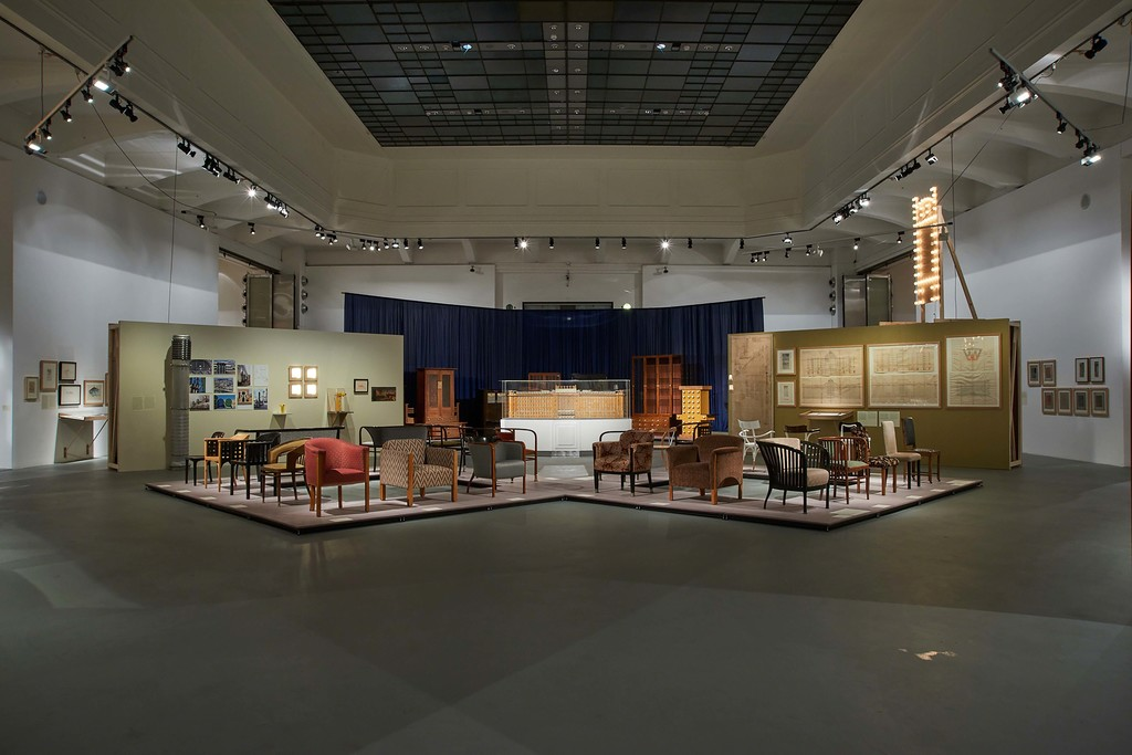 MAK Exhibition View, 2018 POST-OTTO WAGNER From the Postal Savings Bank to Post-Modernism MAK Exhibition Hall © MAK/Georg Mayer