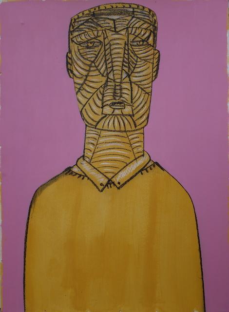 Dumitru Gorzo, 'Head 2', 2017, Slag Gallery