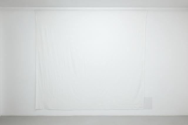 Wilfredo Prieto, 'Bed sheet and paper', 2019, Meessen De Clercq
