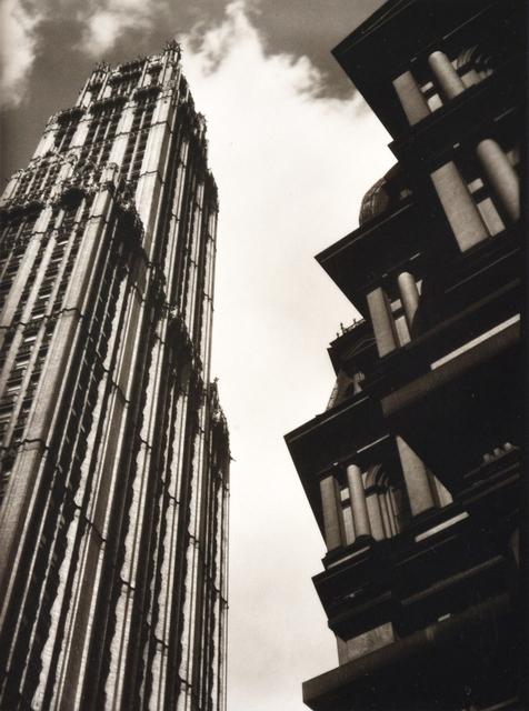 Ralph Steiner, 'High Rise Buildings with Clouds', 1922, Scheinbaum & Russek Ltd.