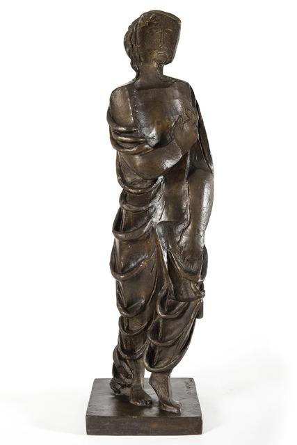 Ossip Zadkine, 'Figurine drapée', 1929, HELENE BAILLY GALLERY