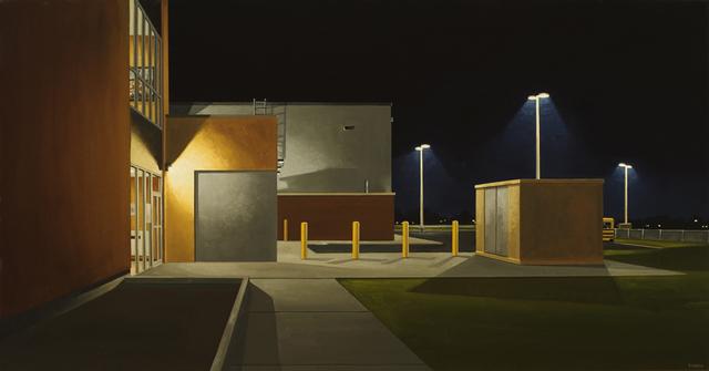 , 'The school lot,' 2015, Galerie D'Este