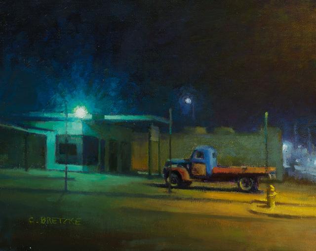 , 'Flatbed Nocturne,' 2017, Grenning Gallery