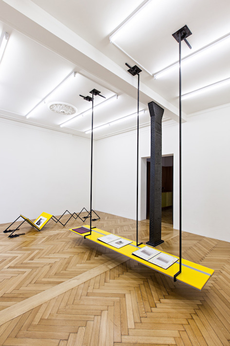 Than Hussein Clark Exhibition view Vengeance... Oh Lybia! WCW Gallery, Hamburg 2014
