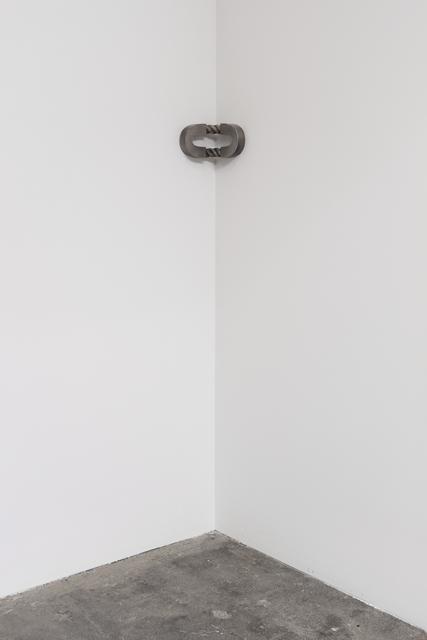 , 'Split 'O' with Rope, reversed (corner),' 2016, Maccarone