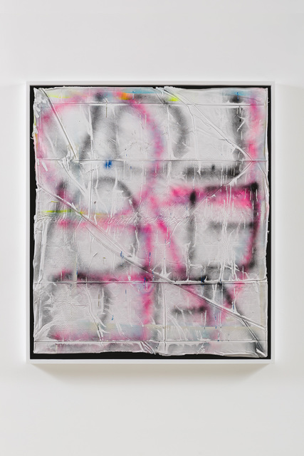 Kendell Carter, 'Kenya', 2020, Painting, Cast latex and aerosol mounted in artist's frame, Edward Cella Art and Architecture