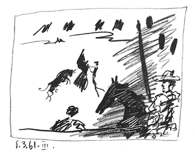 Pablo Picasso, 'Jeu de la Cape', 1961, michael lisi / contemporary art