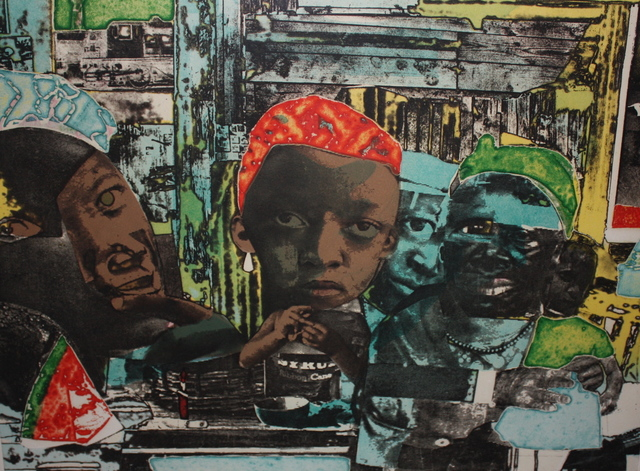 , 'The Train,' 1975, Aaron Galleries