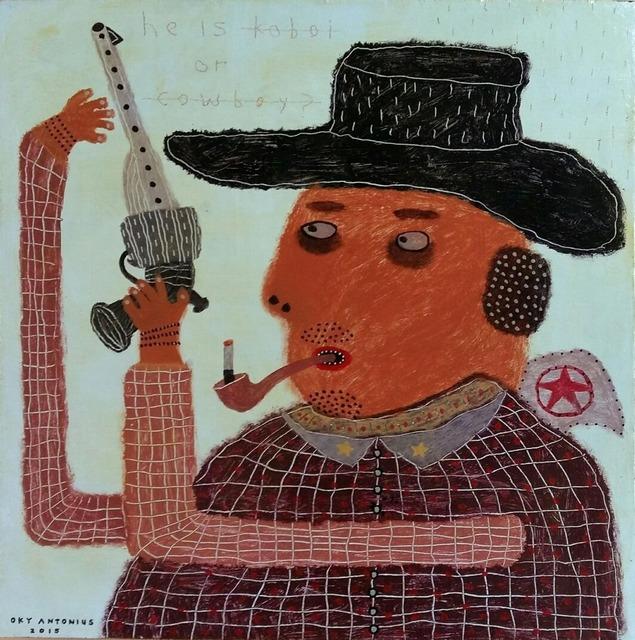 , 'Pull the Trigger,' 2015, Redbase Art