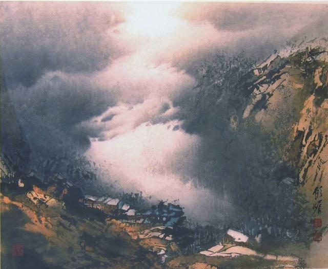 , 'Cloudy Melody 深谷雲影,' 1994, iPreciation
