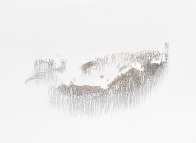 , 'Frontière 6,' 2017, L'Atelier 21