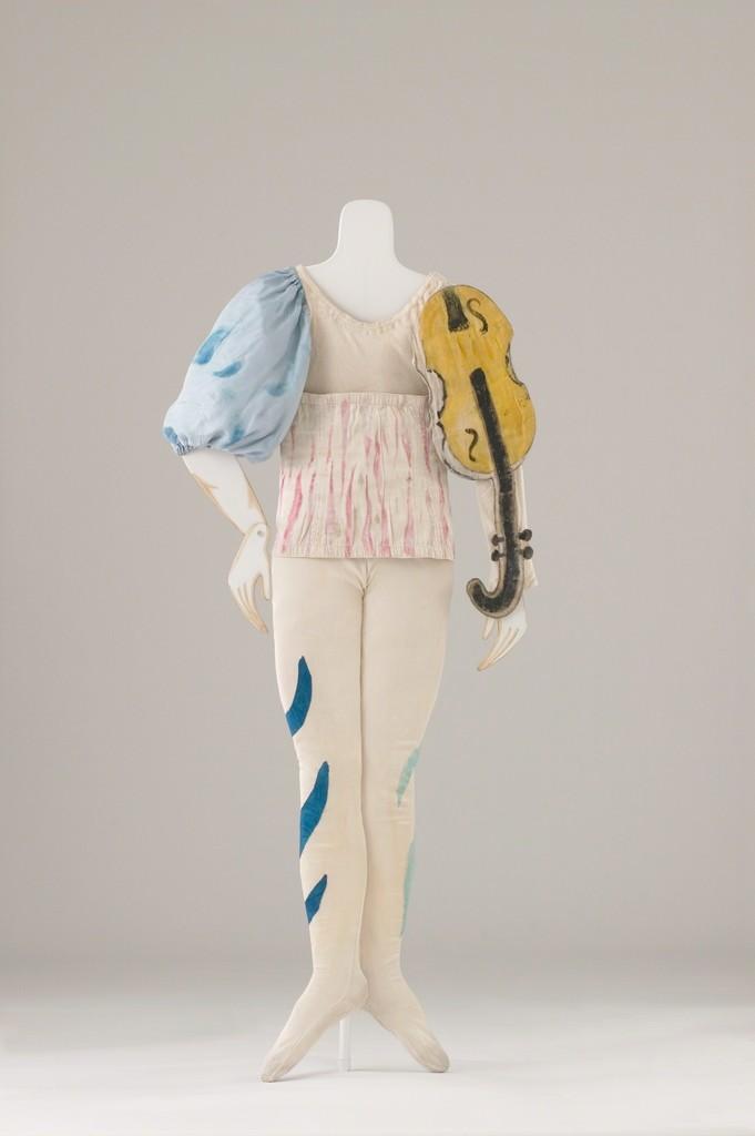 Marc Chagall, 'Costume for a Clown (Aleko Scene II) (Costume pour un clown [Aleko Scène II]),' 1942, Dallas Museum of Art