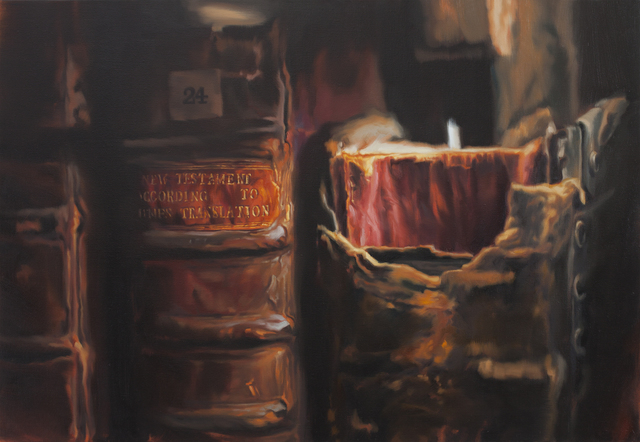 , 'The Queen's College Library at the University of Oxford (K24, New Testament) 牛津大学王后学院图书馆 (K24, 新约),' 2016, Chambers Fine Art