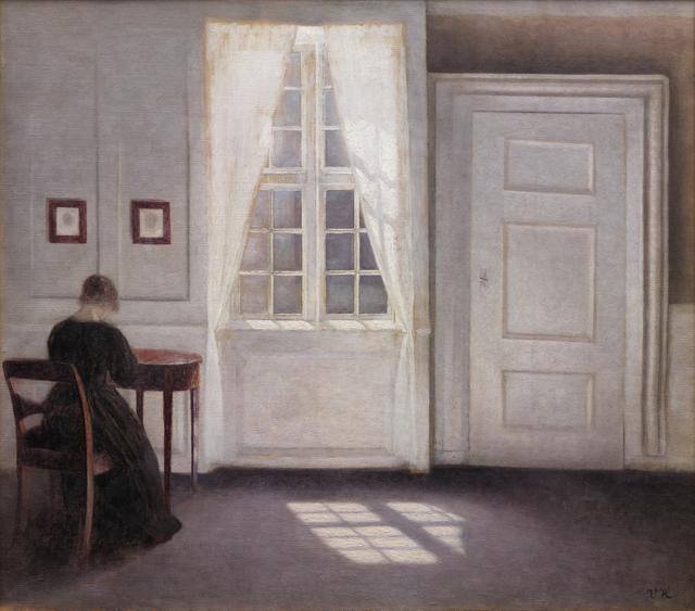 , 'Interior in Strandgade, Sunlight on the Floor,' 1901, Statens Museum for Kunst