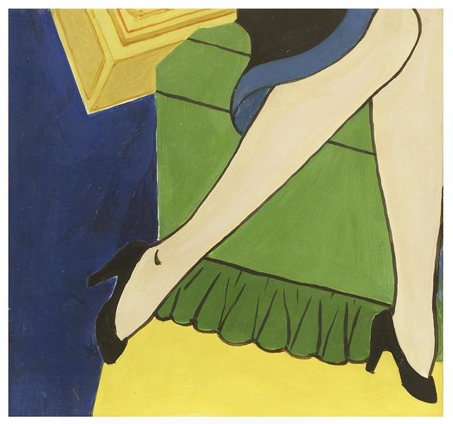 George Schneeman, 'Cigarette/Girl', 2006, Pavel Zoubok Fine Art