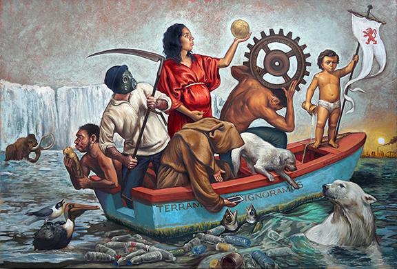 , 'TERRAM IGNORAMUS,' 2018, La Luz de Jesus Gallery
